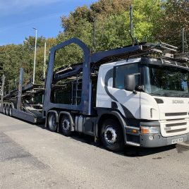 SCANIA 420 LOHR EHR 11 CAR UNDER 4 MTS