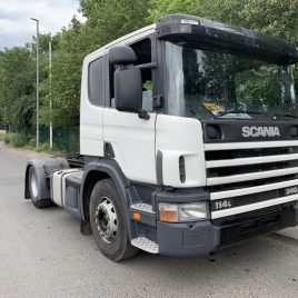 SCANIA TRACTOR IMMACULATE 500 KM PTO TRANSPORTER HYDRAULICS