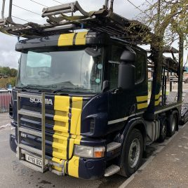 2012 SCANIA P420 FITTED LOHR MULTI-CAR EQUIPMENT UNDER 4 MTS