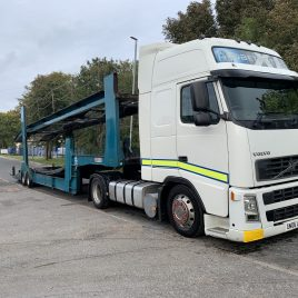 VOLVO 520 GLOBETROTTER 7 CAR TRAILER