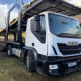 2016 IVECO 440 EUROTREKKOR LOHR 4 MT EQUIPMENT