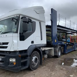 2012 IVECO 440 LOW KMS FITTED TRANSPORTER HYDRAULICS TESTED NOV 2021