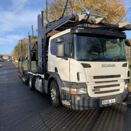 2009 SCANIA P420 11/12 CAR TE GALVANISED TESTED FEB 21