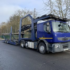 RENAULT 460 6X2 FITTED LOHR UNDER 4 MTS