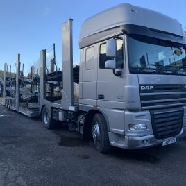 DAF XF SUPER SPACE 460 FITTED TRANSPORTER ENGINEERING 11CAR NO PEAK