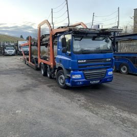 2011 DAF CF460 6X2 11 CAR UNDER 4 MTS
