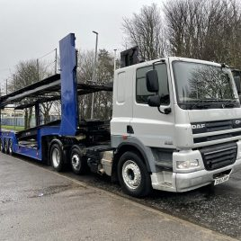 2012 DAF 460 6X2 FITTED TRANSPORTER HYDRAULICS