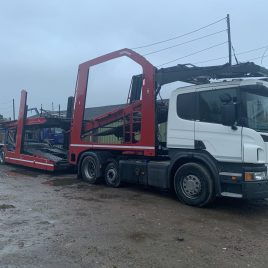 2013 SCANIA 440 6X2 TESTED DECEMBER 2021 LOHR EHR UNDER 4 MTS