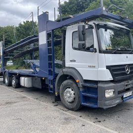 MERCEDES AXOR BELLE 7 CAR RIGID WITH WINCH TESTED AUGUST 22  ANOLOGUE TACHO